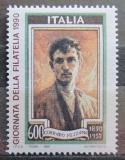 Poštovní známka Itálie 1990 Corrado Mezzana, malíř Mi# 2165