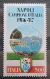 Poštovní známka Itálie 1987 SSC Neapol Mi# 2016 Kat 3.50€