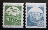 Poštovní známky Itálie 1988 Hrady Mi# 1934-35