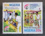 Poštovní známky Nigérie 1987 Mezinárodní rok bydlení Mi# 511-12