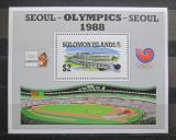 Poštovní známka Šalamounovy ostrovy 1988 LOH Soul Mi# Block 26