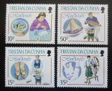 Poštovní známky Tristan da Cunha 1988 Rukodělné umění Mi# 443-46