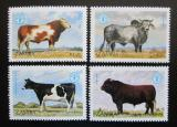 Poštovní známky Zambie 1987 Skot Mi# 429-32 Kat 7.50€