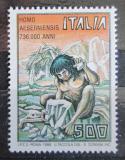 Poštovní známka Itálie 1988 Homo aeserniensis Mi# 2033