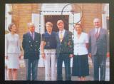 Poštovní známka Belgie 1999 Královská rodina Mi# Block 74