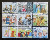 Poštovní známky Belgie 1999 Komiks Mi# 2893-2901