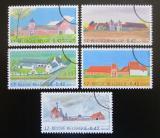 Poštovní známky Belgie 2001 Statky Mi# 3067-71