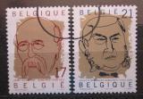 Poštovní známky Belgie 1999 Politici Mi# 2890-91