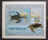 Poštovní známka Mosambik 2007 Želvy DELUXE Mi# 2982 Block