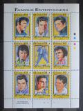 Poštovní známky Gambie 1993 Elvis Presley Mi# 1644-52 Kat 15€