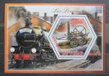 Poštovní známky Čad 2014 Lokomotivy světa Mi# N/N