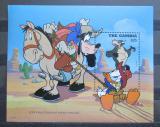 Poštovní známka Gambie 1995 Disney postavičky Mi# Block 272 Kat 9€