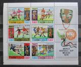 Poštovní známky Rás al-Chajma 1970 MS ve fotbale přetisk Mi# 403-08 Kat 18€