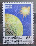 Poštovní známka Horní Volta 1980 Sluneční energie Mi# 785