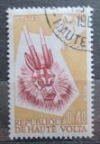 Poštovní známka Horní Volta 1960 Maska Mi# 72
