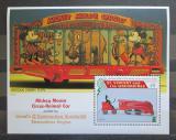 Poštovní známka Svatý Vincenc 1995 Disney, Mickey Mouse Mi# Block 360