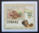 Poštovní známka Mosambik 2007 Kobry DELUXE Mi# 2999 Block
