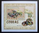 Poštovní známka Mosambik 2007 Kobry DELUXE Mi# 3003 Block