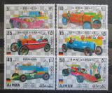Poštovní známky Adžmán 1971 Německá závodní auta Mi# 1117-22