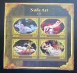 Poštovní známky Džajpur, Indie 2018 Umění, akty neperf. Mi# N/N