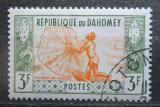 Poštovní známka Dahomey 1961 Rybář Mi# 180