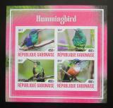 Poštovní známky Gabon 2017 Kolibříci neperf. Mi# N/N