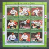 Poštovní známky Guinea-Bissau 2001 MS ve fotbale Mi# 1343-51 Kat 10€