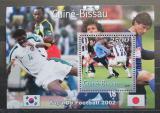 Poštovní známka Guinea-Bissau 2001 MS ve fotbale Mi# Block 316 Kat 12€