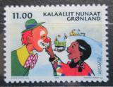Poštovní známka Grónsko 2002 Evropa CEPT, cirkus Mi# 385