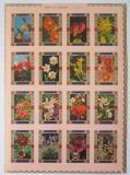Poštovní známky Umm al-Kuvajn 1972 Květiny neperf. Mi# 1034-49 B Kat 25€