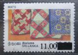 Poštovní známka Srí Lanka 1997 Lidové umění přetisk Mi# 1135 Kat 4€