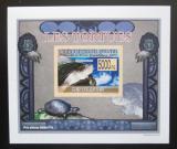 Poštovní známka Guinea 2009 Želvy neperf. DELUXE Mi# 6397 B Block