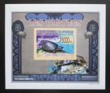 Poštovní známka Guinea 2009 Želvy neperf. DELUXE Mi# 6398 B Block