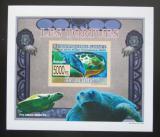 Poštovní známka Guinea 2009 Želvy neperf. DELUXE Mi# 6399 B Block