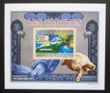 Poštovní známka Guinea 2009 Želvy neperf. DELUXE Mi# 6400 B Block