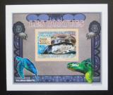 Poštovní známka Guinea 2009 Želvy neperf. DELUXE Mi# 6402 B Block