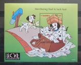 Poštovní známka Gambie 1997 Disney, 101 dalmatýnů Mi# Block 342 Kat 9.50€