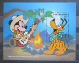 Poštovní známka Gambie 1995 Disney postavičky Mi# Block 273 Kat 9€