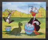 Poštovní známka Gambie 1994 Disney postavičky, velikonoce Mi# Block 223 Kat 8€