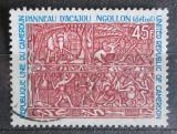 Poštovní známka Kamerun 1974 Tradiční umění ze dřeva Mi# 765