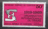 Poštovní známka Kamerun 1969 ILO, 50. výročí Mi# 599