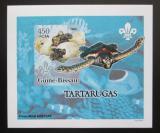 Poštovní známka Guinea-Bissau 2005 Želvy DELUXE neperf. Mi# 3223 B Block