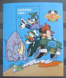 Poštovní známka Tanzánie 1994 Disney, Safari Mi# Block 267