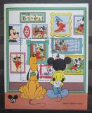 Poštovní známka Svatý Vincenc 1994 Disney postavičky Mi# Block 317