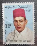Poštovní známka Maroko 1968 Král Hassan II. Mi# 609