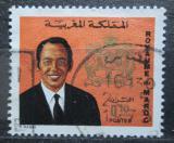 Poštovní známka Maroko 1973 Král Hassan II. Mi# 724