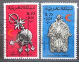 Poštovní známky Maroko 1975 Červený půlměsíc Mi# 799-800