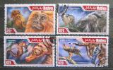 Poštovní známky Maledivy 2014 Chráněná fauna Mi# 5233-36 Kat 10€