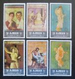 Poštovní známky Adžmán 1972 Antické umění Mi# 2064-69 Kat 8€