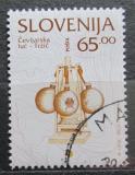 Poštovní známka Slovinsko 1996 Skleněná lampa Mi# 137